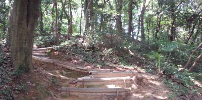 永源山公園へ3
