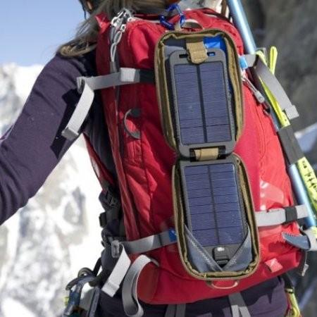 solarmonkeyバックパック装着時