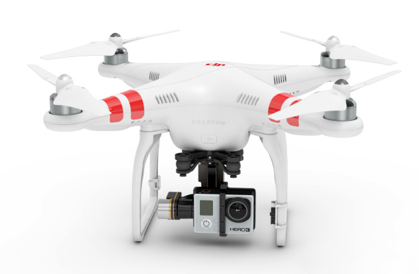 DJI-Phantom-2 gopro