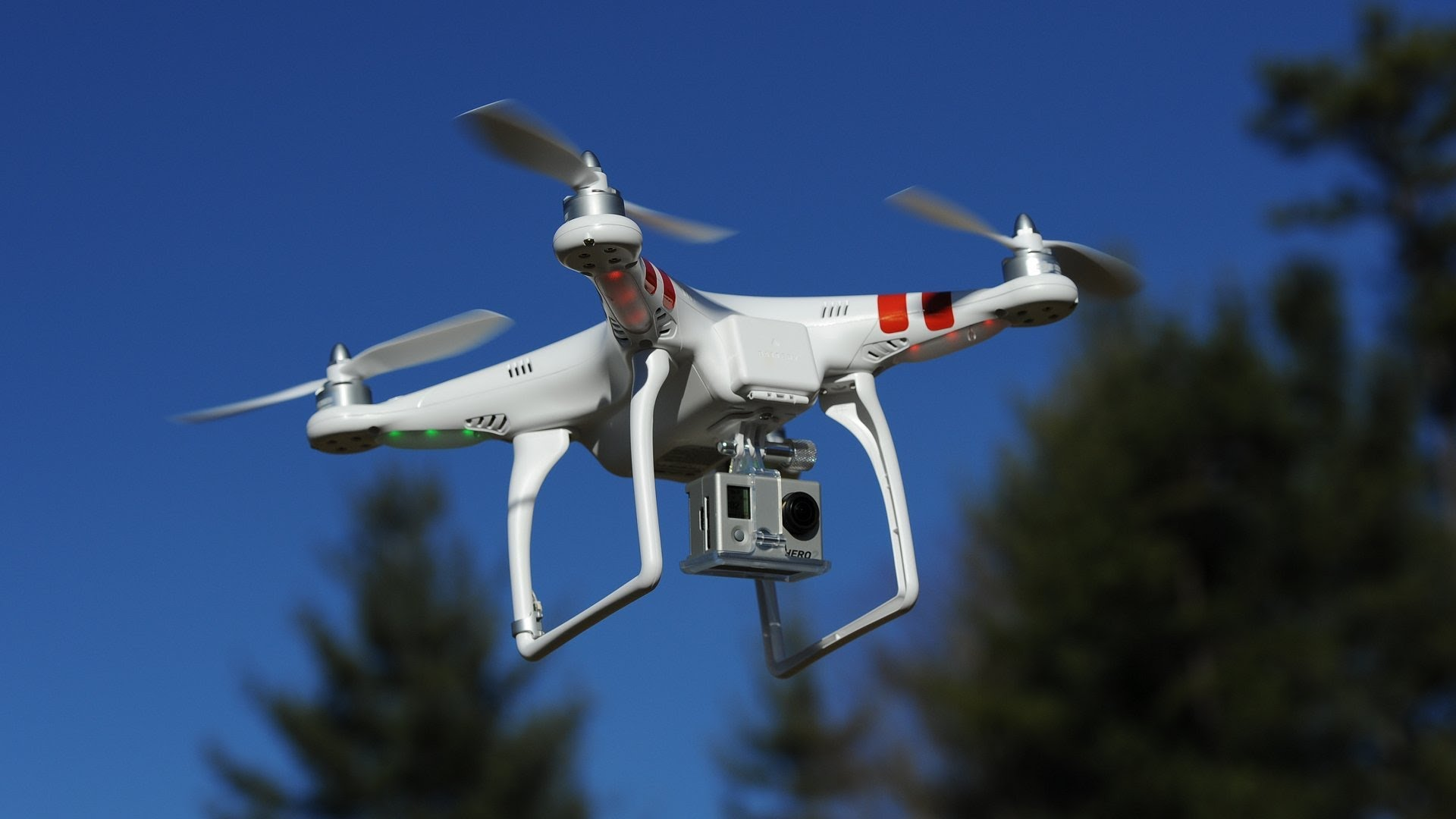 DJI-Phantom-2 gopro 飛行