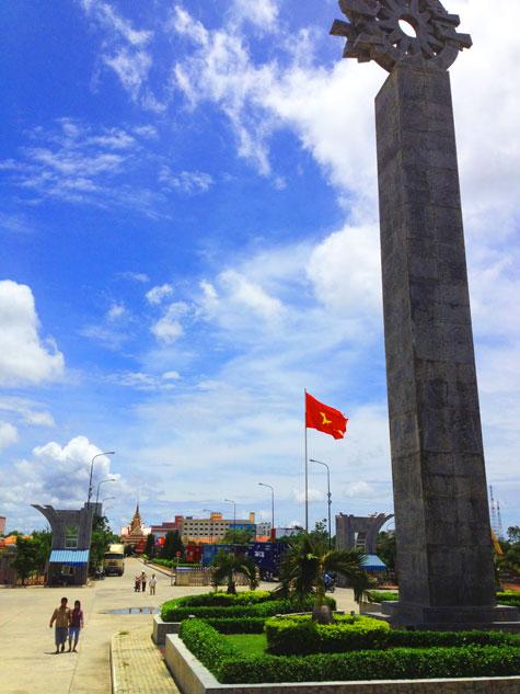 ベトナムカンボジア国境