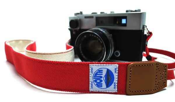 MOUTH カメラストラップ001