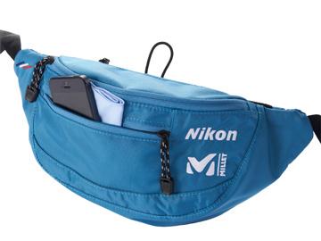 Nikon x MILLET ウエストバッグ1
