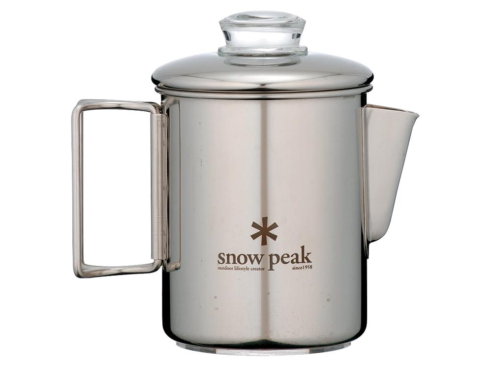 snowpeak ステンパーコレーター 6カップ