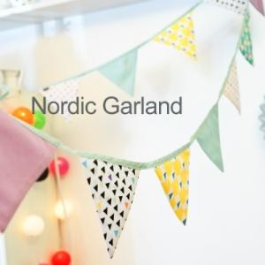 ノルディック フラッグ ガーランド 北欧