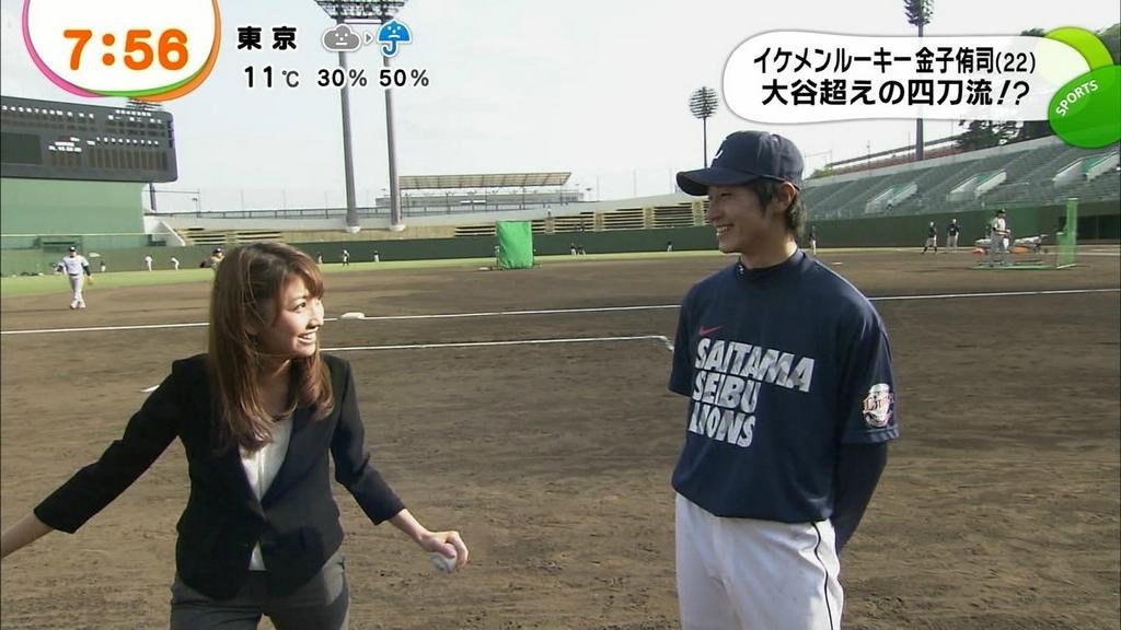 西武の金子侑司内野手がフジテレビ・三田友梨佳アナウンサーと交際宣言した2