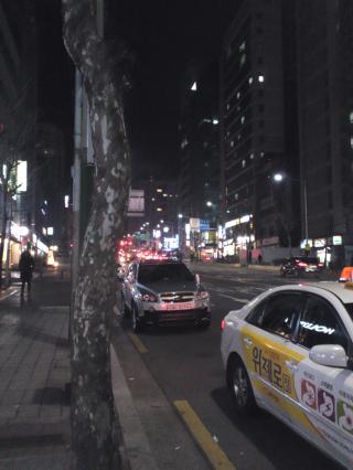 夜 タクシー