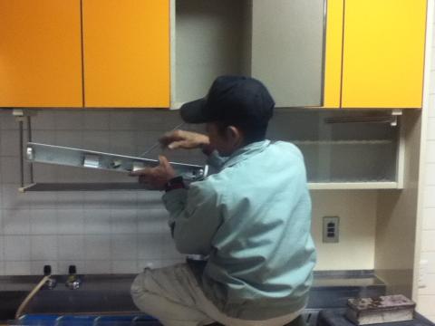 キッチンライト修理?