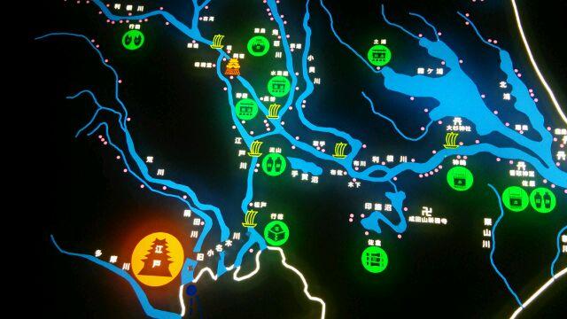 関東平野のほぼ中心