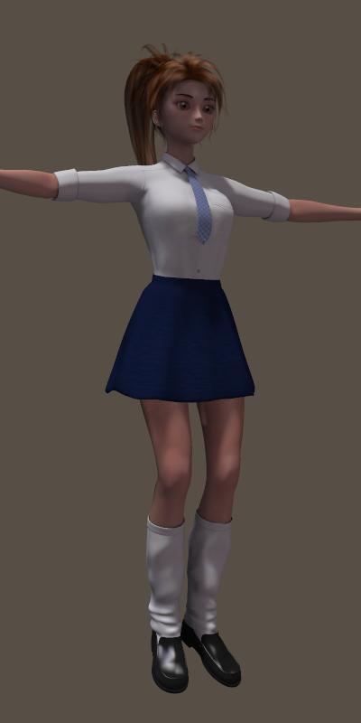 A3_学生服