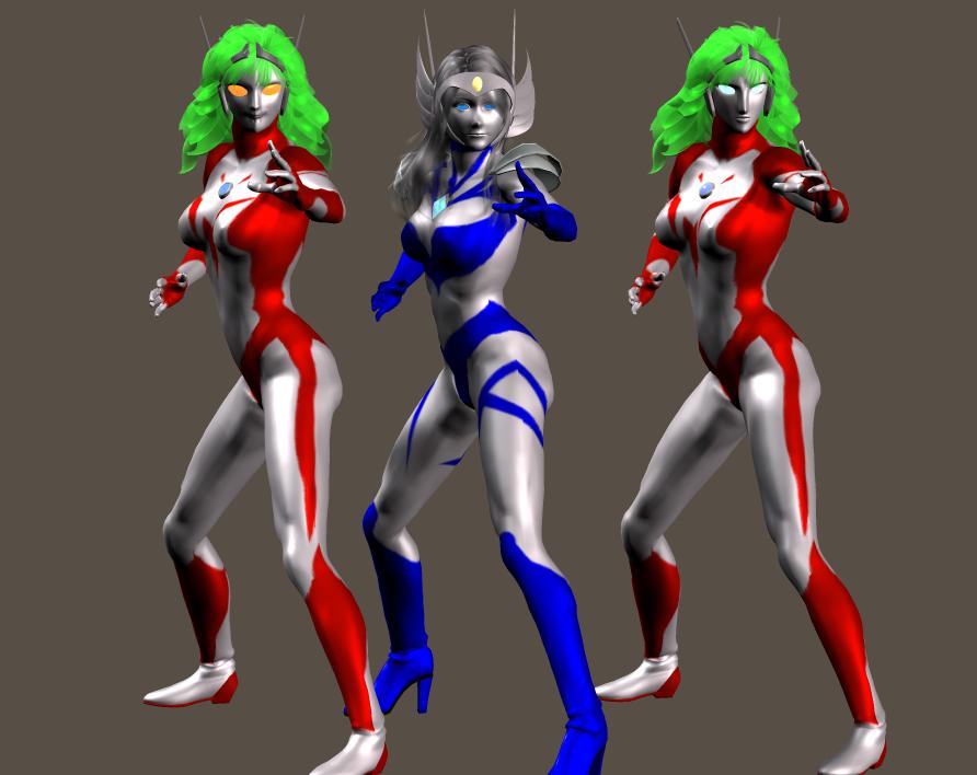 光の三姉妹