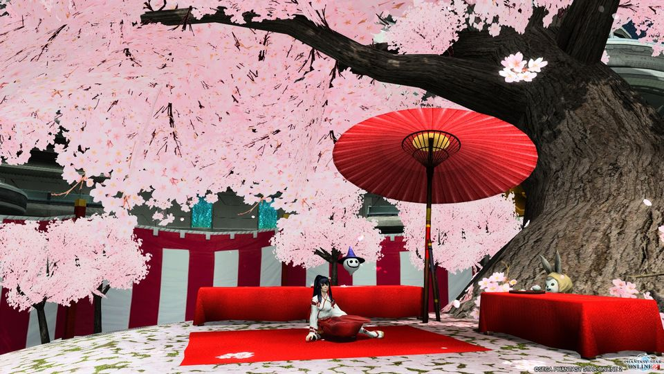 4.11 桜ロビー