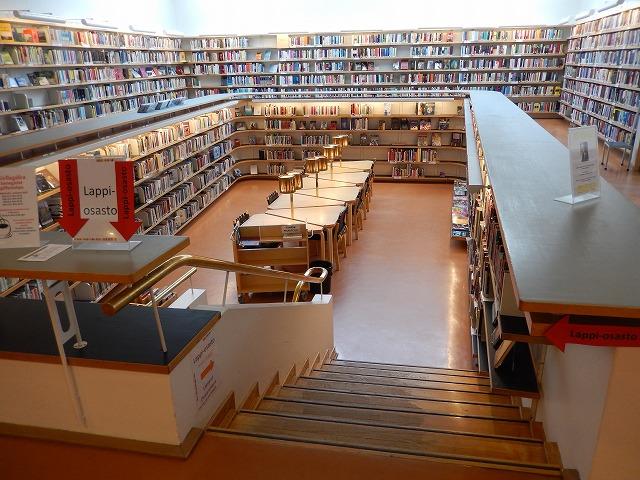図書館読書机