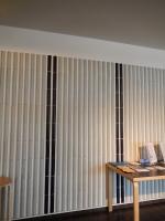 図書館セラミックの壁