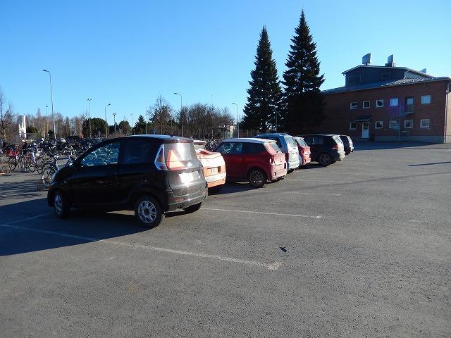 高校駐車場2