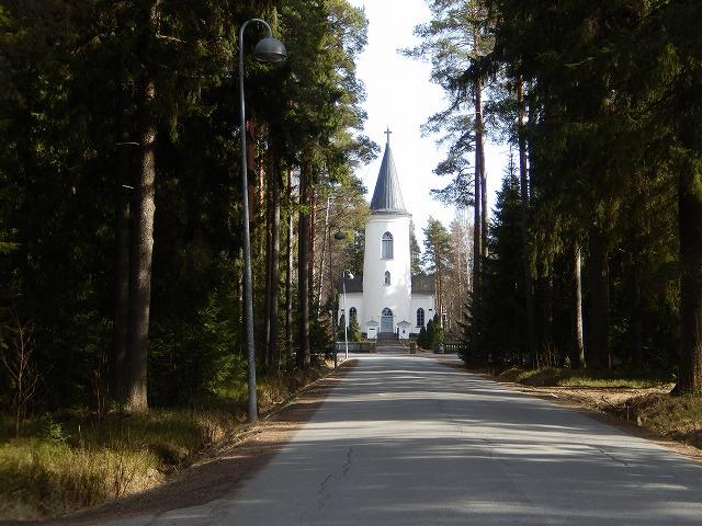 森の中のトルナヴァ教会