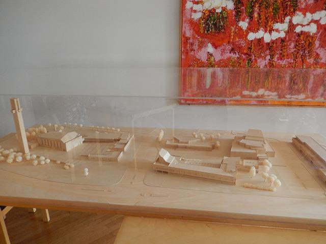 アールトセンター模型