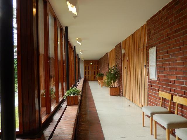 村役場廊下