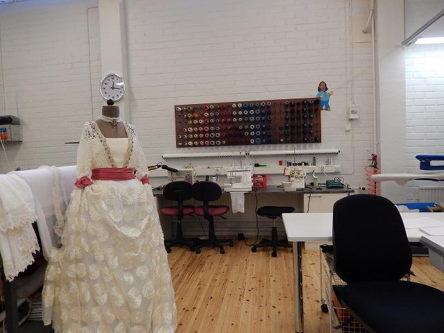 衣装制作部屋 糸のコレクション