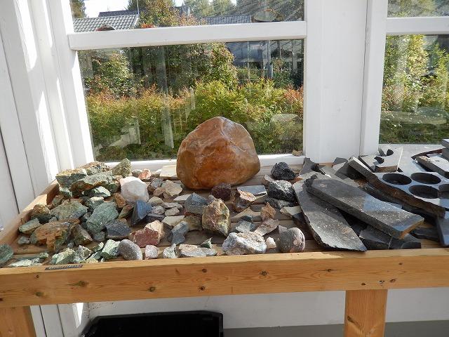 石の展示1