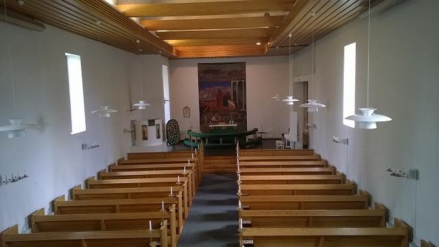 ムーラメ教会内部