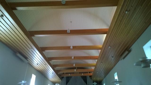 ムーラメ教会天井