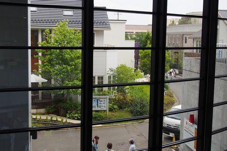 窓からモデルハウス