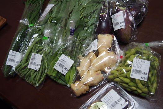 買った野菜たち