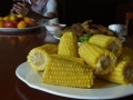 昼ご飯トウモロコシ2