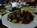 昼ご飯茸の炒め物