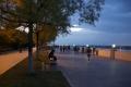 黒河夕暮れの散策路