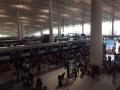 相変わらずの混雑北京空港