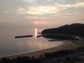 弓削島の朝日1