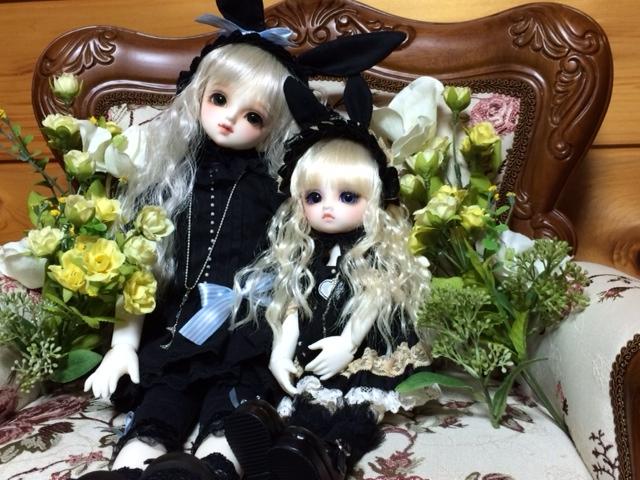 黒ウサ姉妹2