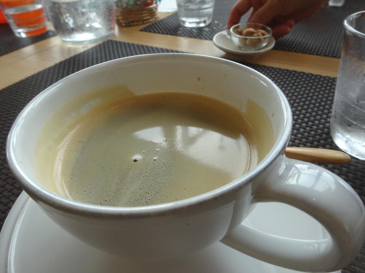 コーヒー多くて嬉しいな
