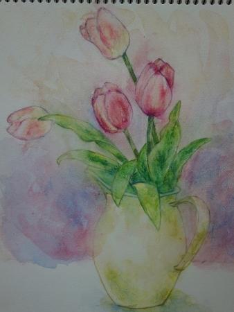 水彩色鉛筆11