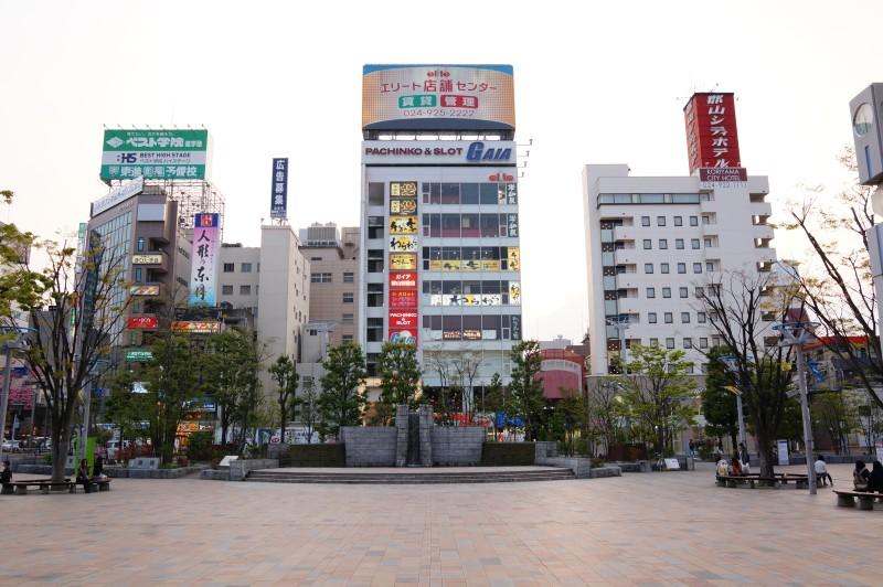 開放感のある駅前広場