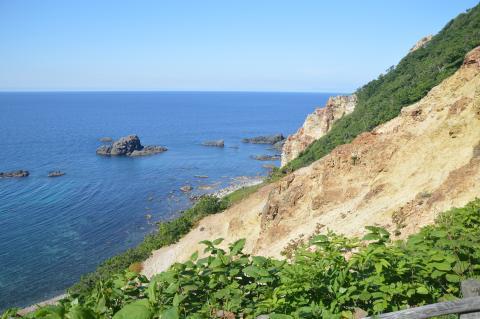 積丹岬の島武意海岸