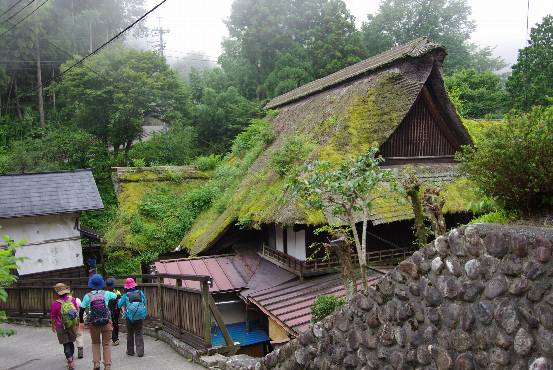 馬場家屋根