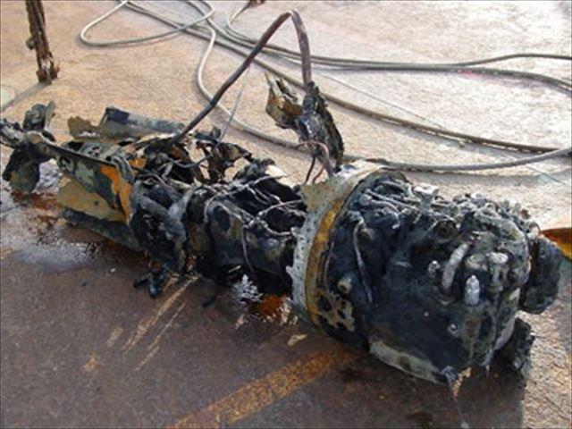 平成13年11月22日旧海軍95式酸素魚雷の尾部_R
