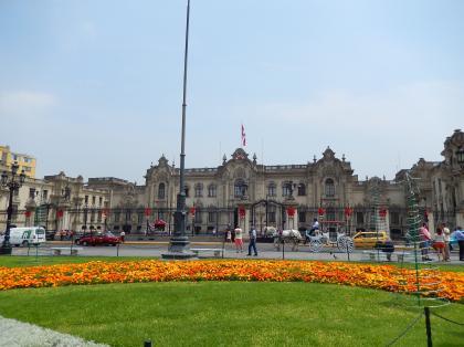 ペルー2014.1リマ・アルマス広場