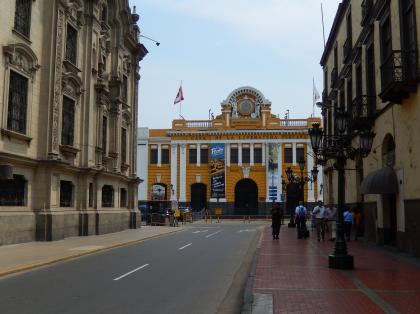 ペルー2014.1リマ・デサンパラード駅