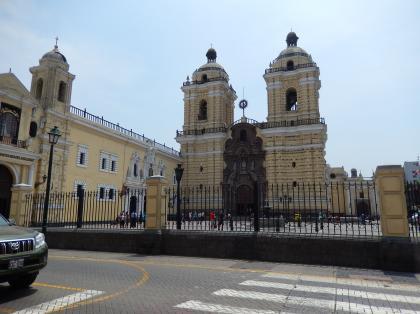 ペルー2014.1リマ・サンフランシスコ教会