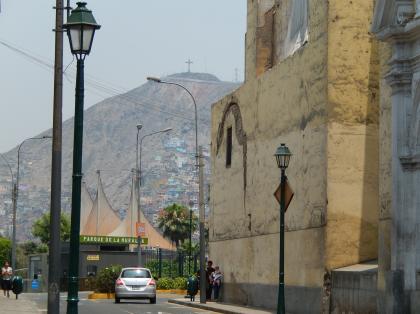 ペルー2014.1リマ・サンクリストバルの丘