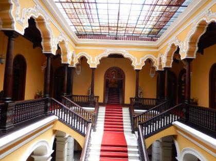 ペルー2014.1リマ・大司教宮殿