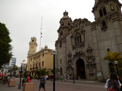 ペルー2014.1リマ・ケネディ広場教会