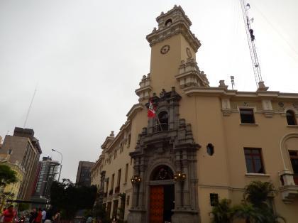 ペルー2014.1リマ・ケネディ広場区役所