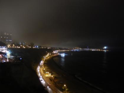 ペルー2014.1リマ・ラルコマル夜景