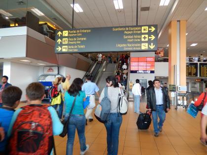 ペルー2014.1リマ・ホルヘチャベス空港