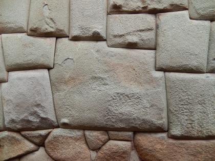 ペルー2014.1クスコ市内・12角の石